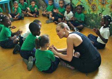 Teaching 4 and 5 year olds rhythm